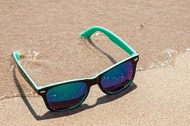 Sonnenschutz und Bodylotion