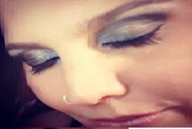 Augen und Lippen